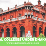 Medical Colleges under Dhaka University