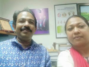 Smile Education with DNMCH Vice Principal
